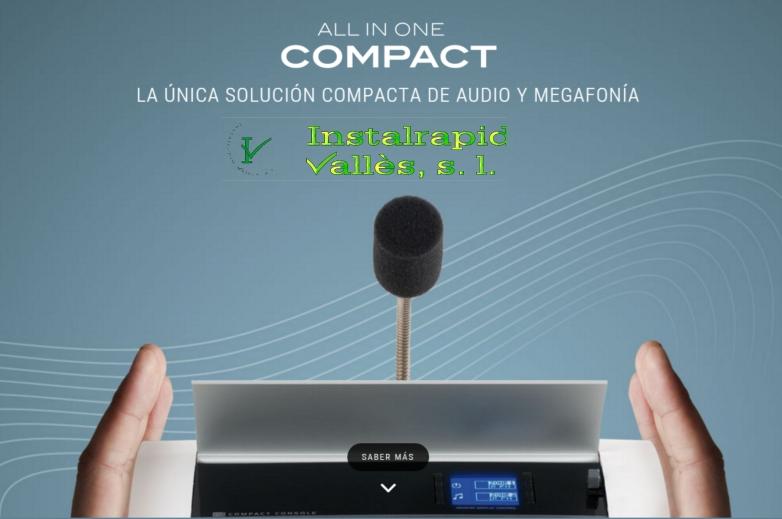 Instalrapid Vallès S.L., Mollet del Vallès, Barcelona, sistemas sonido y megafonía profesionales EGi