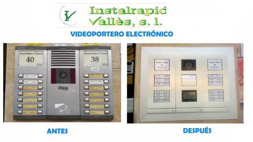 Instalrapid Vallès S.L.Mollet del Vallès, Barcelona, vídeo porteros digitales ABB Niessen Welcome, renovar videoportero