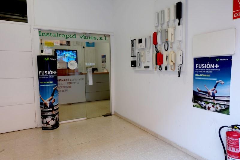 Instalrapid Vallès S.L., antenas Mollet del Vallès, Barcelona, distribuidor Oficial Movistar plus