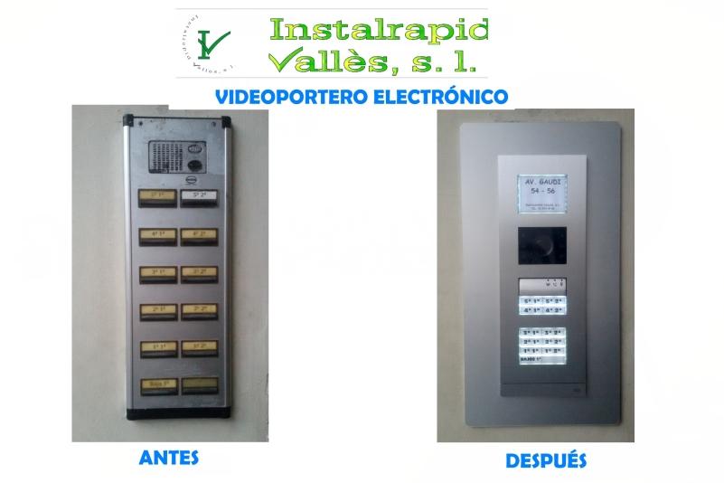 Instalrapid Vallès S.L., antenas Mollet del Vallès, instalar nuevo vídeo portero comunidad de vecinos