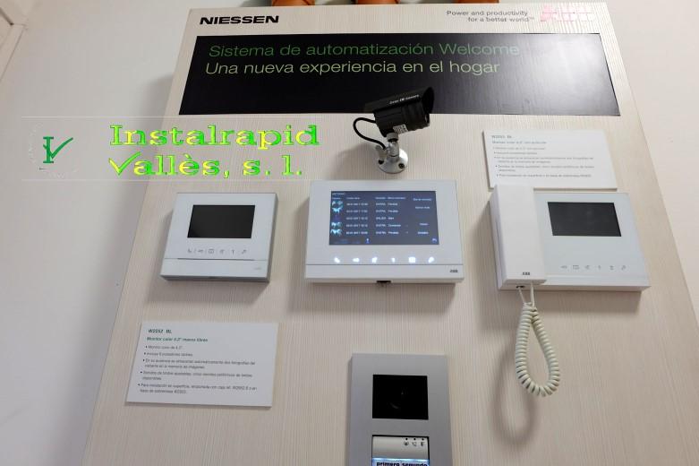 Instalrapid Vallès S.L., vídeo porteros digitales para comunidades vecinos,nuevos modelos,servicio técnico