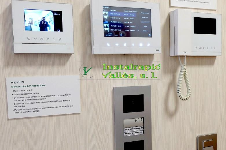 Instalrapid Vallès S.L., vídeo porteros digitales para comunidades vecinos,nuevos modelos, renovación de porteros 2017