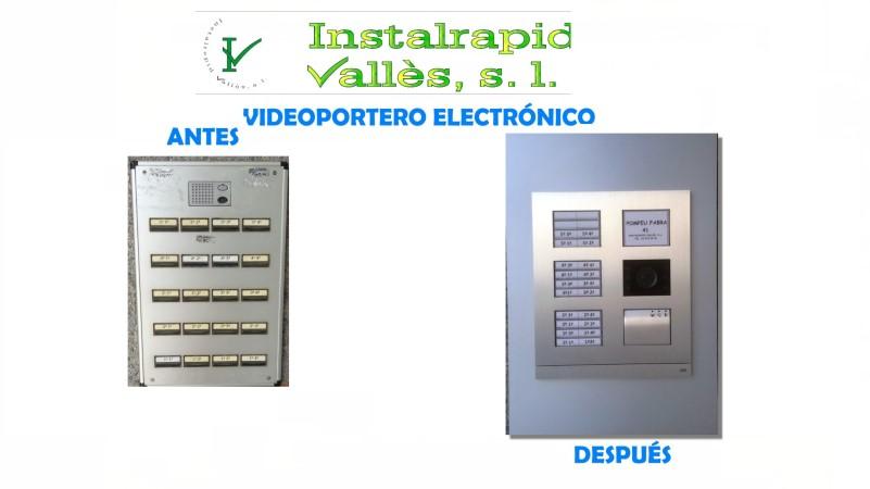 Instalrapid Vallès S.L., Mollet del Valles, Barcelona,vídeo porteros digitales para comunidades vecinos,instalación y reparación, taller
