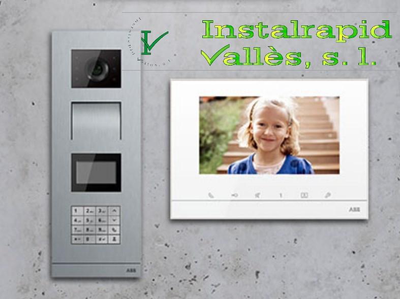 Instalrapid Vallès S.L.Mollet del Vallès, Barcelona, vídeo porteros digitales ABB Niessen Welcome para comunidades vecinos