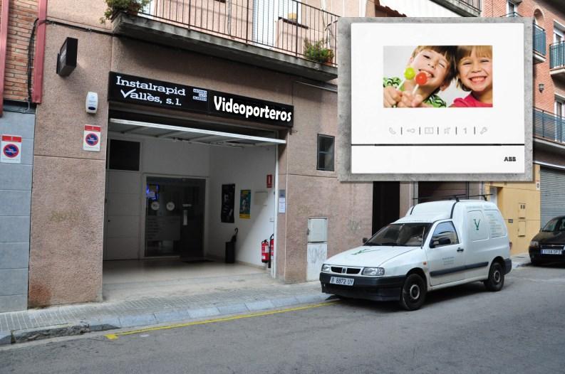 Instalrapid Vallès S.L.Mollet del Vallès, Barcelona, vídeo porteros digitales ABB Niessen Welcome,  monitor manos libres