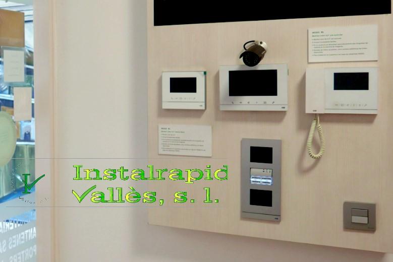 Instalrapid Vallès S.L.Mollet del Vallès, Barcelona, vídeo porteros digitales ABB Niessen, instalaciones profesionales en Barcelona antenas