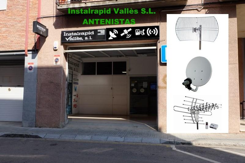 Instalrapid Vallès, Mollet, Barcelona, instala Antenas Parabólicas para satélite