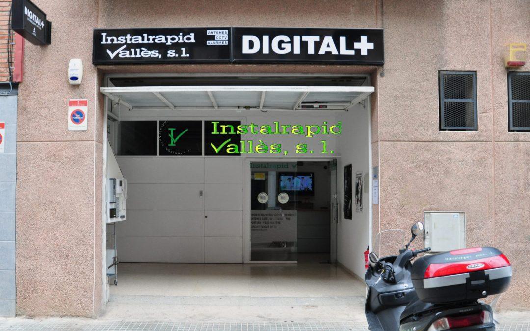 Antena de TV Comunitaria, Antena parabólica, Alarmas Seguridad, Vídeo Portero Digital ABB Wifi Control de presencia, Instalrapid Vallès,Barcelona