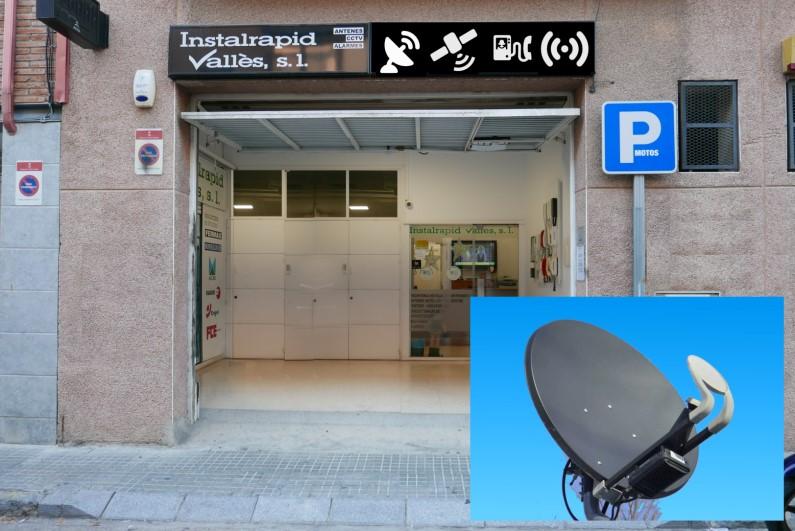 Instaladores de antenas satélite parabólicas en Mollet,Barcelona, Instalrapid Vallès