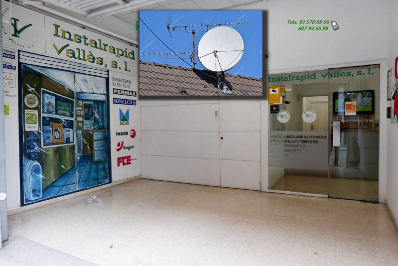 Especialistas en antenas parabólicas satélite, instalación y reparación,Instalrapid Vallès,Barcelona