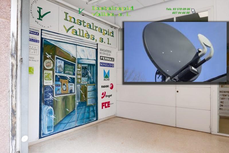 Servicio de instalación y reparación de antenas parabólicas Instalrapid Vallès, Barcelona