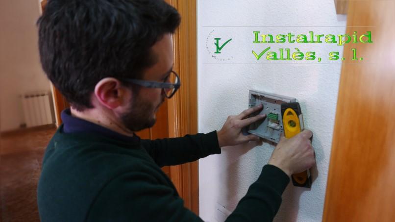 Mollet del Vallès,Barcelona instaladores y reparadores de videoporteros y porteros ABB, Instalrapid Vallès