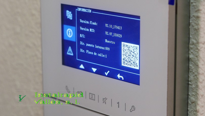 Novedad en videoportero Digital ABB, Instalrapid Vallès, instalador oficial para comunidades de vecinos en Mollet del Vallès,Barcelona