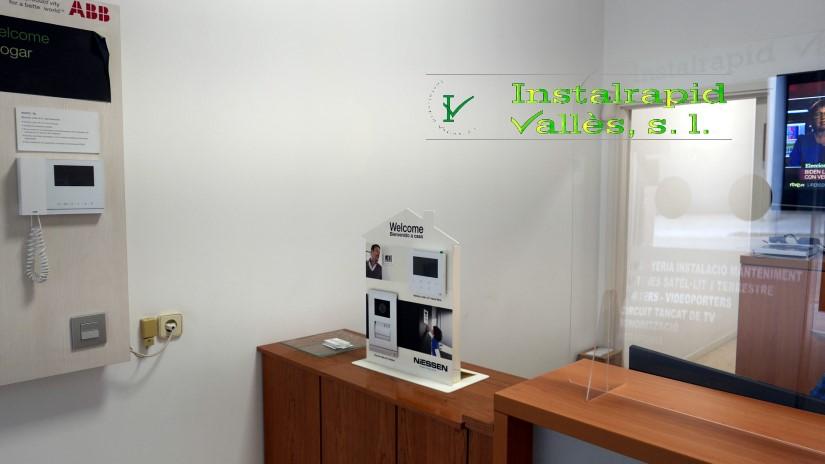 Instalrapid Vallès, instalador oficial video porteros ABB, reparación y mantenimiento