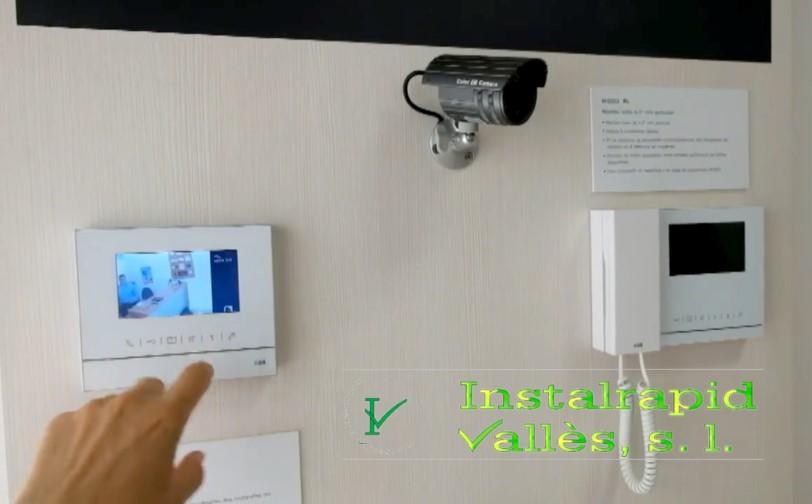 Los nuevos videoporteros digitales ABB Niessen Welcome Instalrapid Vallès, Mollet, Barcelona