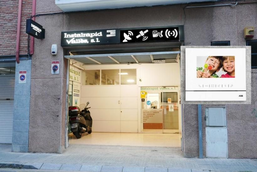 Instaladores de interfonos, videoporteros ABB en Barcelona y provincia, reparación y mantenimiento Instalrapid Vallès