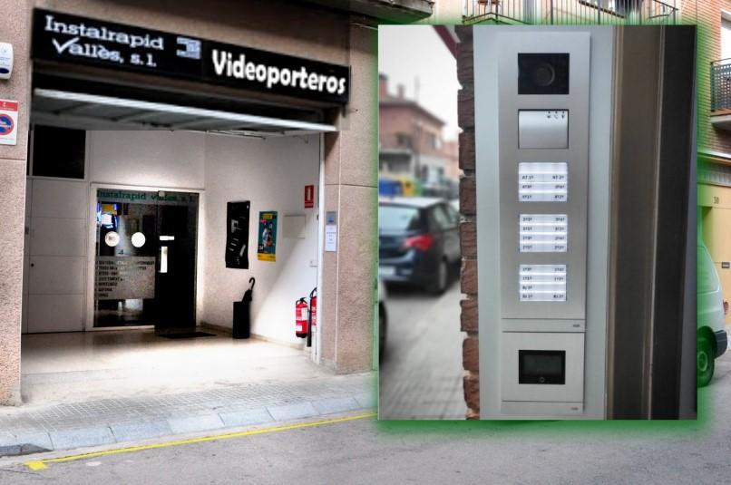 Nuevo Videoportero ABB Niessen Welcome digital con wifi Instalrapid Vallès instalador en provincia Barcelona