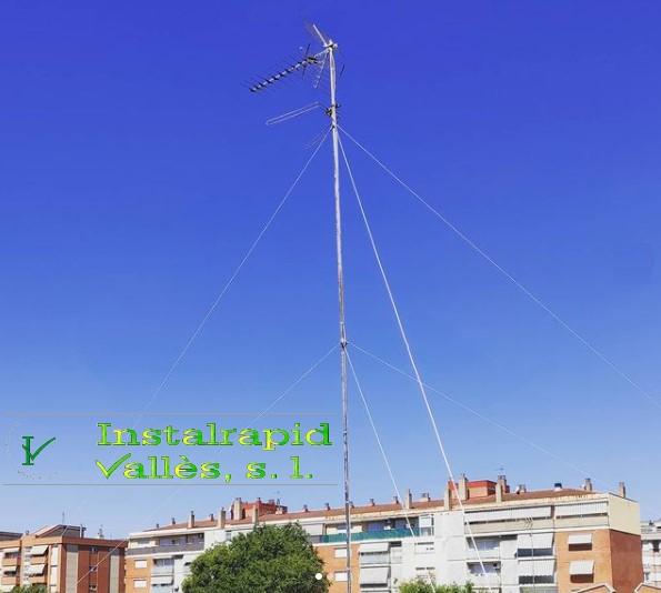 Instalación, mantenimiento y reparación de antenas comunidades TDT y satélite en Mollet del Vallès, Barcelona Instalrapid Vallès